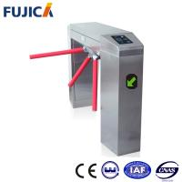 Wholesale Electronic 3 Arm Tripod Turnstile Gate With Intelligent Card Reader / Writer from china suppliers
