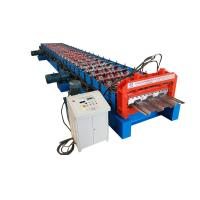 Wholesale Long Life Precise Steel Floor Deck Roll Forming Machine with CE from china suppliers