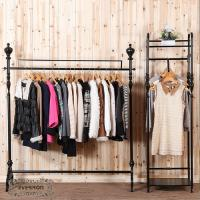 Wholesale design iron clothing display shelves stands from china suppliers