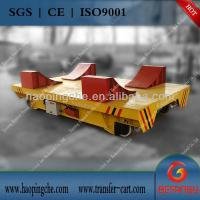 Wholesale Cable drum power electric transfer bogie Coil handling machine from china suppliers