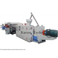 Wholesale PVC Glazed Roof/Spanish Roof Sheet production Line/PVC Sheet Extrusion Line from china suppliers