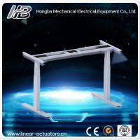 Wholesale electric 2 segment desk leg for standing office desk from china suppliers