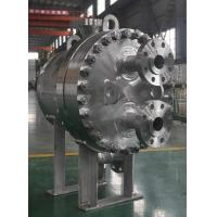 Round & Corrugated Metal Sheets Plate Shell Heat Exchangers For Petrochemical Industry