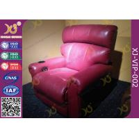 Wholesale Foam Infilling Recline Function VIP Cinema Seating ,Leather Cinema Sofa Recliner from china suppliers