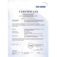 TORICH INTERNATIONAL CO.,LTD Certifications