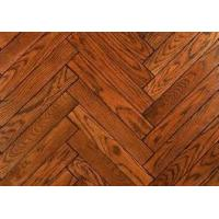 Wholesale size mm ac3/4/5 hdf water resistant waxed click system 8.3mm laminate flooring from china suppliers