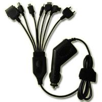 Wholesale 7 In 1 Black USB Car Chargers 5V 12W For Automotive Electronic Products from china suppliers