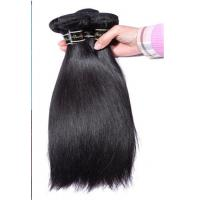 Wholesale Genuine Virgin Brazilian Hair Extensions Bundles With Silk Straight from china suppliers