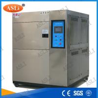 Wholesale Three Zone Programmable Cold Thermal Shock Testing Chamber  with touch screen controller from china suppliers