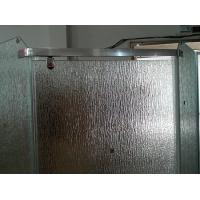 Wholesale 12mm Bathroom Partition Figured Glass, Custom Frosted Tempered Glass 1000*2000mm from china suppliers