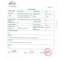 Guangzhou    Jianghua Glasses Factory Certifications