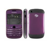Wholesale OEM Blackberry Curve 8520 Full Housing Cover Faceplates With Purple Color , Screen Lens from china suppliers