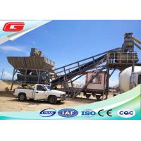 Wholesale Precast Dry Mix Mobile Concrete Batching Plant YHZS25 With 25 M3/H Capacity from china suppliers