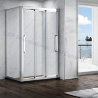 Wholesale Nanotechnology Tempered Safety Glass Double Sliding Shower Enclosure from china suppliers