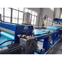 Wholesale PVC Soft Sheet Extrusion Machine , Flexible PVC Sheet Extrusion Production Line from china suppliers