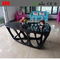 Wholesale Black color luxury design living room coffee table from china suppliers
