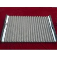 Wholesale Stainless Steel Wave Type Screen/Corrugated Oil Shale Shaker Screen/80-325mesh from china suppliers