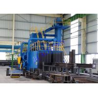Wholesale Industrial Electricity H Beam Shot Blasting Machine For Steel Structures from china suppliers