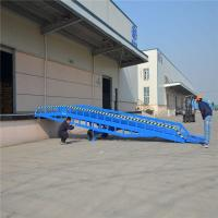 Wholesale Hydraulic Mobile Loading Ramp 8 Ton 10 Ton 12 Ton Steel Loading Dock Ramp from china suppliers