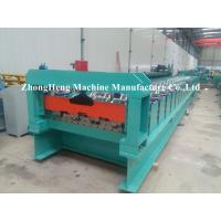 Wholesale Hydraulic Cutting Floor Deck Roll Forming Machine For 1.2 Mm Thickness Steel from china suppliers