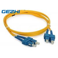 Wholesale 3D Passed optical patch cord SC / UPC - SC / UPC single mode fiber jumpers from china suppliers