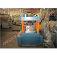 Wholesale Galvanized Iron C-purlin Roll Forming Machine with Middle Production Capacity from china suppliers