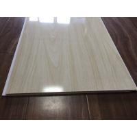 Wholesale Wood Grain Bathroom PVC Ceiling Panels Seamless Connection 3.5kg / m2 30cm x 9mm from china suppliers