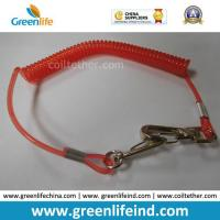 Wholesale Red Hot Selling PU Spring String Coil Lanyard Tether from china suppliers