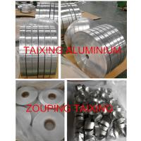 Buy cheap AA8011 aluminium strip  both sides clear lacuqer  for flip off seal from wholesalers