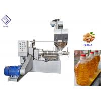 Wholesale Automatic screw oil press groundnut oil processing machine for cooking oil from china suppliers