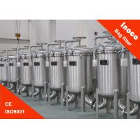Quality High Precision Single Bag Filter Housing Stainless Steel Liquid Filtration for sale