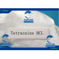 Wholesale Tetracaine HCl Alcohol And Local Anaesthetic Injection 136-47-0 C15H25ClN2O2 from china suppliers