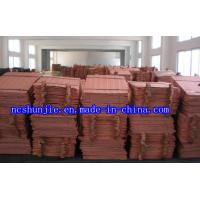Quality High Quality Copper Cathode/ Electrolytic Copper Plate 99.97%-99.99% for sale