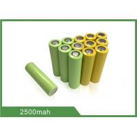 Buy cheap 3.7V 2500mAh 18650 Rechargeable Lithium-ion cell For Storage Power Application from wholesalers