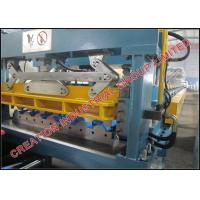 Wholesale Aluminium Metcopo Step Tile Roof Sheet Forming Machine Rollform Equipment from china suppliers