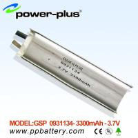 Wholesale Li-Polymer battery 0931134 3300mAh 3.7V from china suppliers