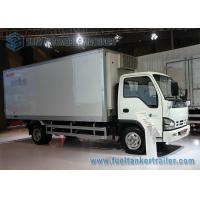 Wholesale 3 Ton / 5 Ton ISUZU Transport Refrigerated Box Truck 6980*2100*3060mm from china suppliers