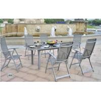 Wholesale All Weather Outdoor Garden Table And Chairs Set For Dining 7 Piece from china suppliers