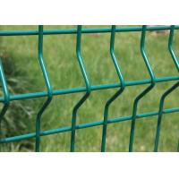 Wholesale Curvy Welded Electric Galvanized Wire Mesh Fencing High Strength 4.0mm Dia from china suppliers