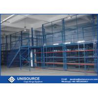 Wholesale Metal Frame Pallet Rack Supported Mezzanine Plywood Board Multi Level Floor from china suppliers