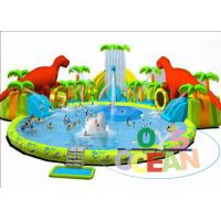 Wholesale Colorful Inflatable Floating Water Park / Kids Inflatable Water Games For ​Summer from china suppliers