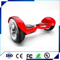 Wholesale Red 10 Inch Two Wheel Balancing Electric Scooter Hoverboard With Led Lights from china suppliers