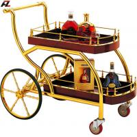 Stainless Steel Wine Serving Carts Liquor Trolley Of Item