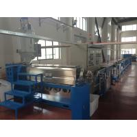 Wholesale Fuchuan Power wire Plastic Extrusion Line With Folding W Type Cooling Channel from china suppliers