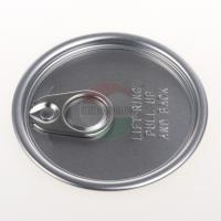Wholesale Aluminium Ring Pull Easy Open Can Lid Clear / Blue / Green Customized from china suppliers