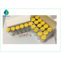 Wholesale Human Growth Hormone Releasing Peptide , GHRP 6 Peptide 5mg / Vial CAS 87616-84-0 from china suppliers