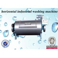 Buy cheap Fully Loaded Horizontal Washing Machine 200kg , Industrial Washing Equipment from wholesalers