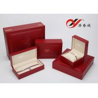 Wholesale ECO Friendly Wooden Necklace Box , Handmade Velvet Custom Jewelry Boxes from china suppliers