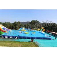 Buy cheap Popular Inflatable Water Activities , Amusement Water Parks With CE Certificate from wholesalers