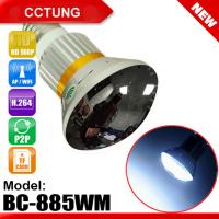 Wholesale Mirror Bulb WiFi/AP HD960P P2P IPCamera with 5W White LED Light from china suppliers
